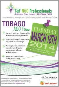 Tobago NGO Forum 2014