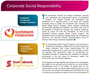 Scotiabank Foundation Trinidad Tobago