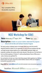 Microsoft Trinidad Tobago NGO Workshop