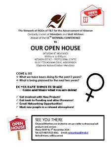 OPEN HOUSE TEXT