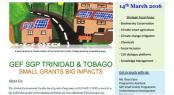 GEF SGP UNDP Trinidad Tobago - 2016 Call for Grant Proposals