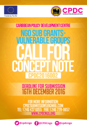 caribbean-policy-development-centre-call-for-ngo-concept-notes-access-to-small-grants
